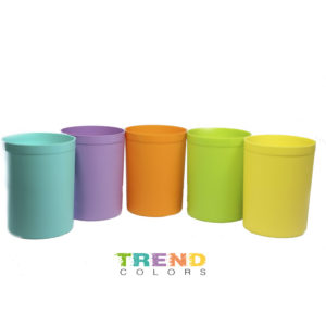 Porta lapices trend color