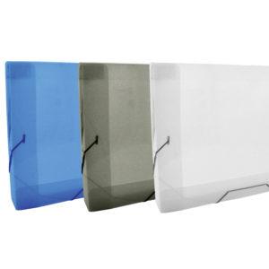 (ESP) Caja con elastico A4 line