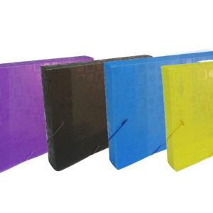(ESP) Caja con elastico A4 3cm TOP